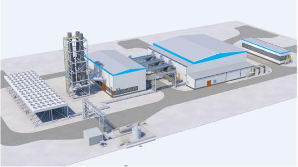Строительство газопоршневой электростанции